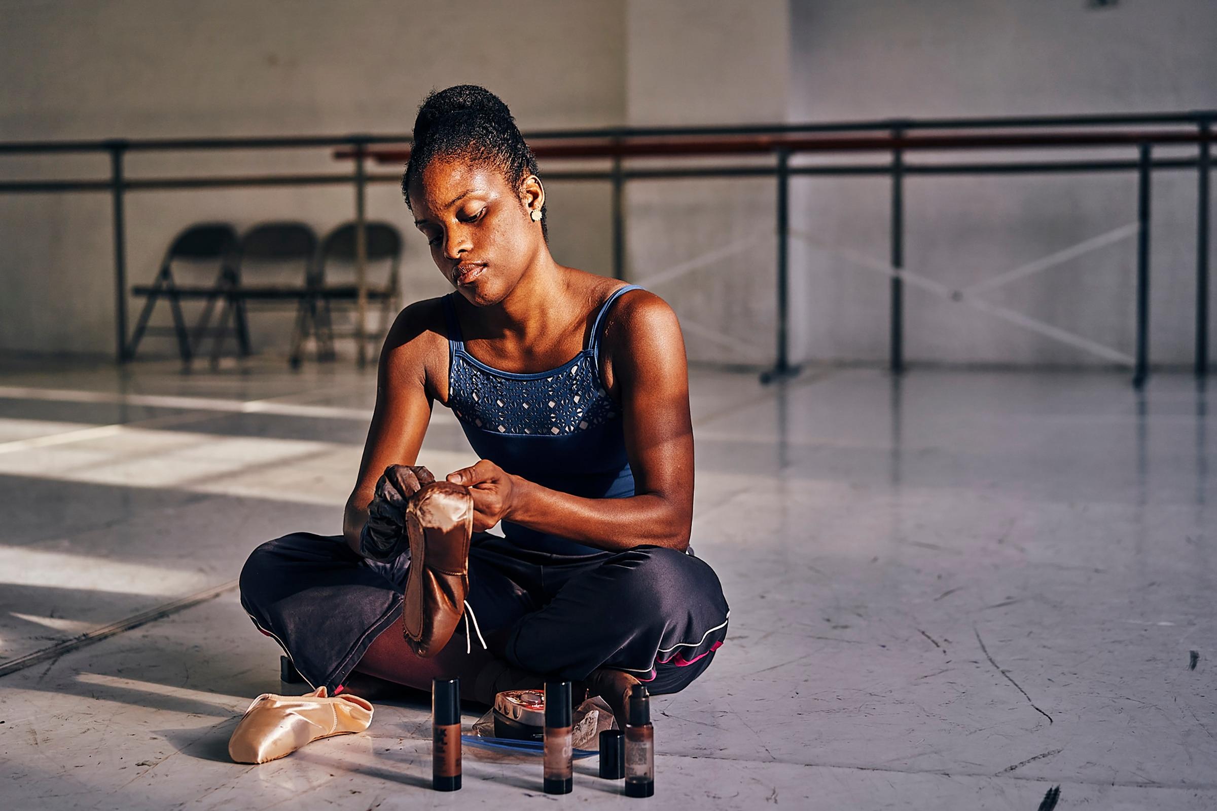 Ingrid Silva; Dance Theatre of Harlem; sapatilha de ponta