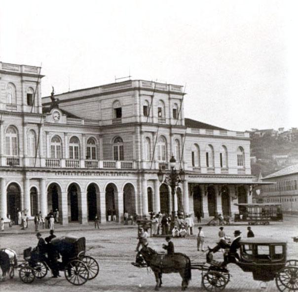 Estação Central da Antiga Estrada de Ferro Dom Pedro II