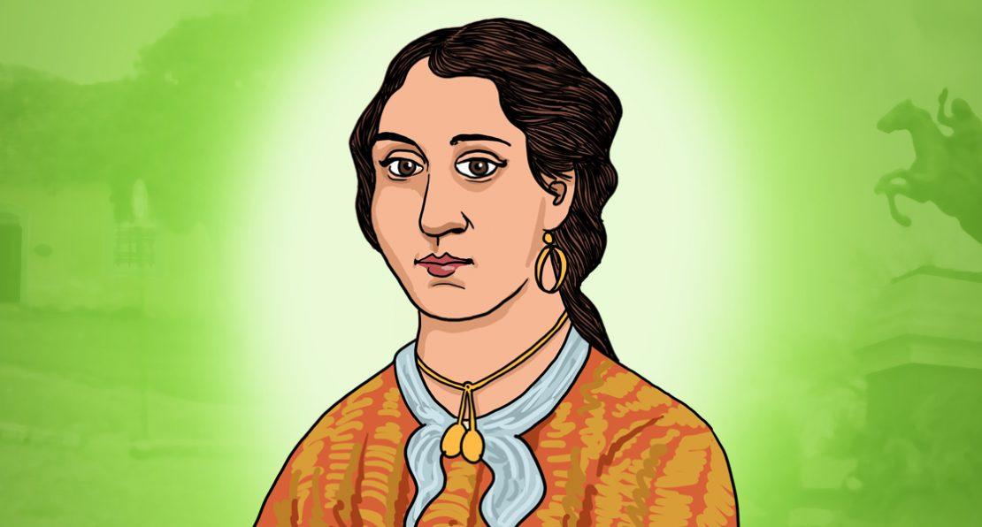 Anita Garibaldi ilustrada