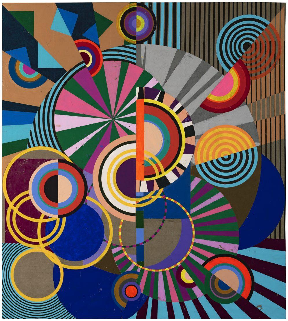 Obra 'Sonho Tropical' (2017), da artista plástica Beatriz Milhazes