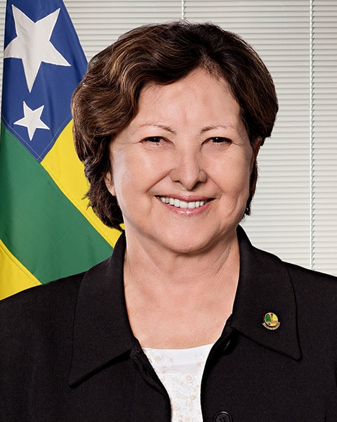 Senadora Maria do Carmo Alves (DEM–SE)