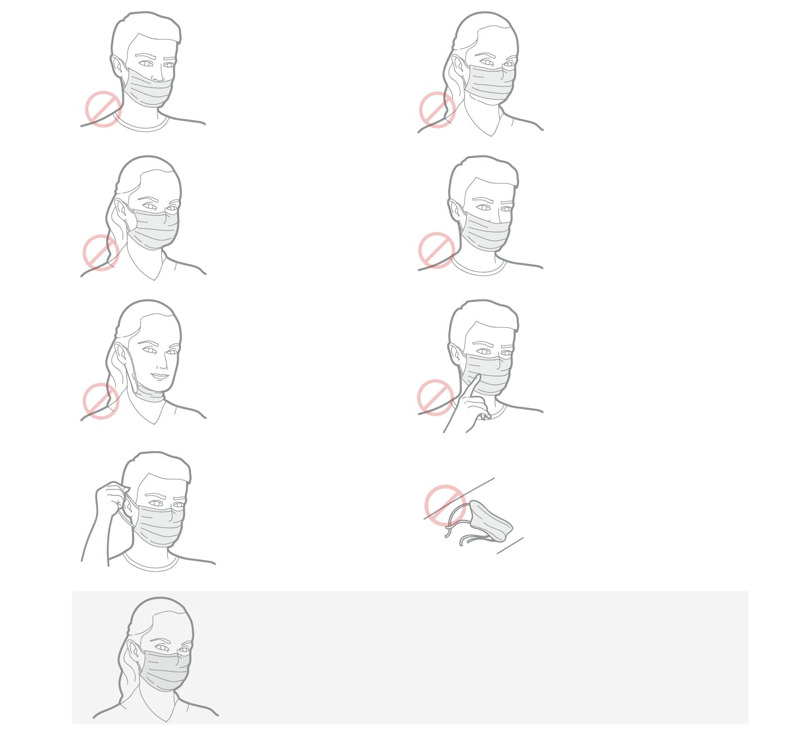 Como usar máscara corretamente para se proteger